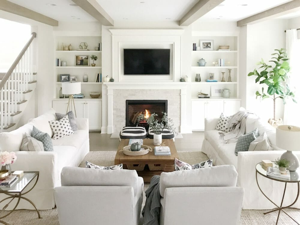 Open Concept Living Room Life On Cedar Lane