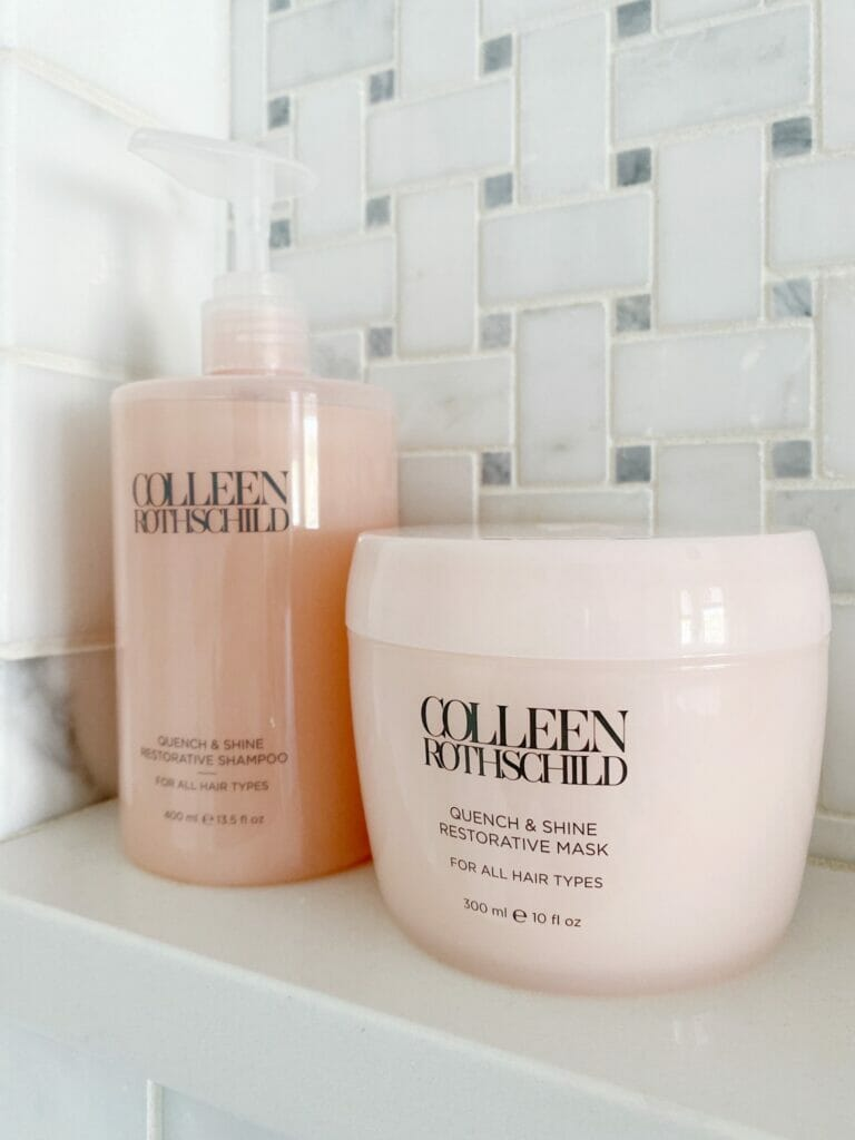 Sharing my favorite Colleen Rothschild hair and skin care products.