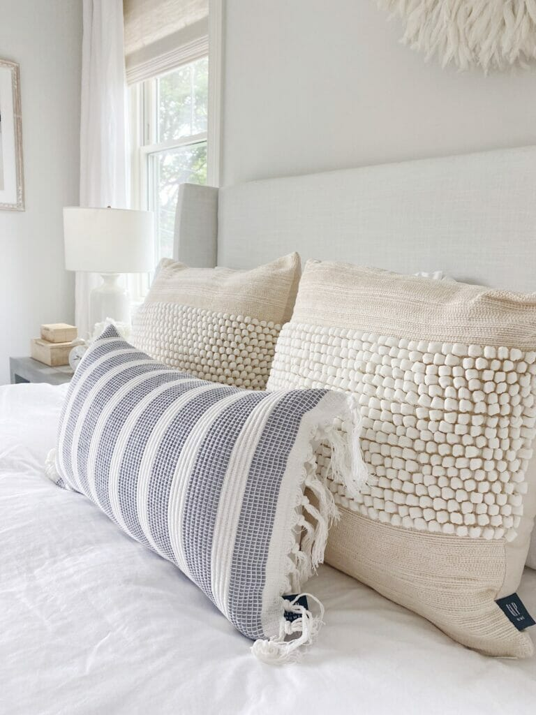 Gap Home pillows, sold exclusively at Walmart